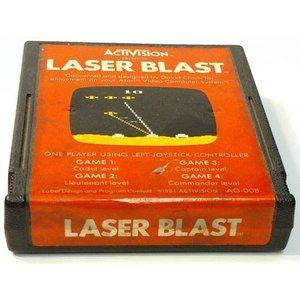 Atari Activision Laser Blast Vintage Video Game